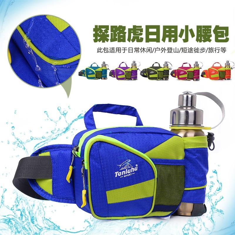 NEW TANLUHU 17 6 14cm Waterproof Nylon Waist font b Bag b font Outdoor font b