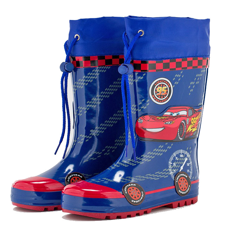 Kid's fashion rain boots kid's girl&boy anti skid natural rubber waterproof Cartoon car design rain boots rainy day shoes A84 special package mail between children s rain boots shoes cartoon water hero boy league men s shoes boots