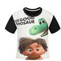 O Bom do Dinossauro Crianças roupas de verão para crianças meninos short-manga da camisa de t