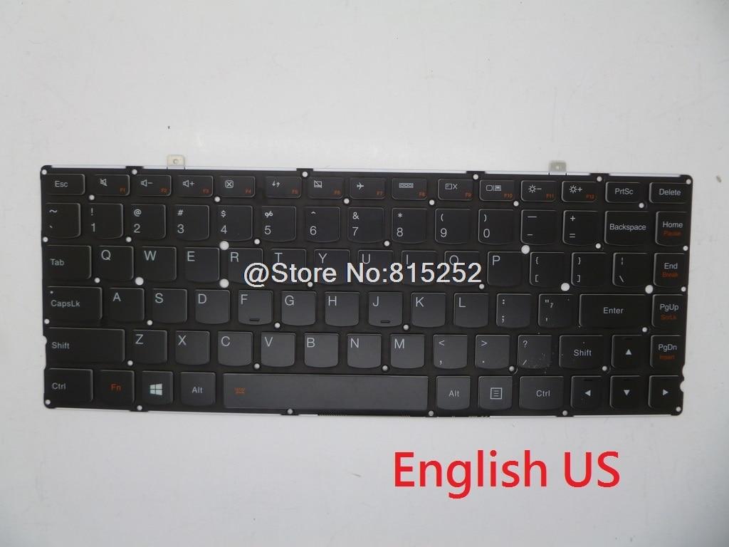 Laptop Keyboard For Lenovo Yoga 2 Pro 13 US Canada CA French FR Italy IT Nordic NE Russia RU Swiss SW English Nordic NE Backlit