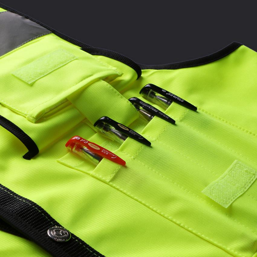 Image 5 - Hi vis yellow Safety vests reflective waistcoatsafety vest reflectivesafety vestyellow safety vest -