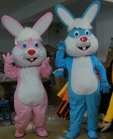 Easter Bunny Mascot Costumes Rabbit and Bugs Bunny Adult Mascot for Sale Bugs Rabbit Hare Easter Adult Mascot Party Fancy Dress