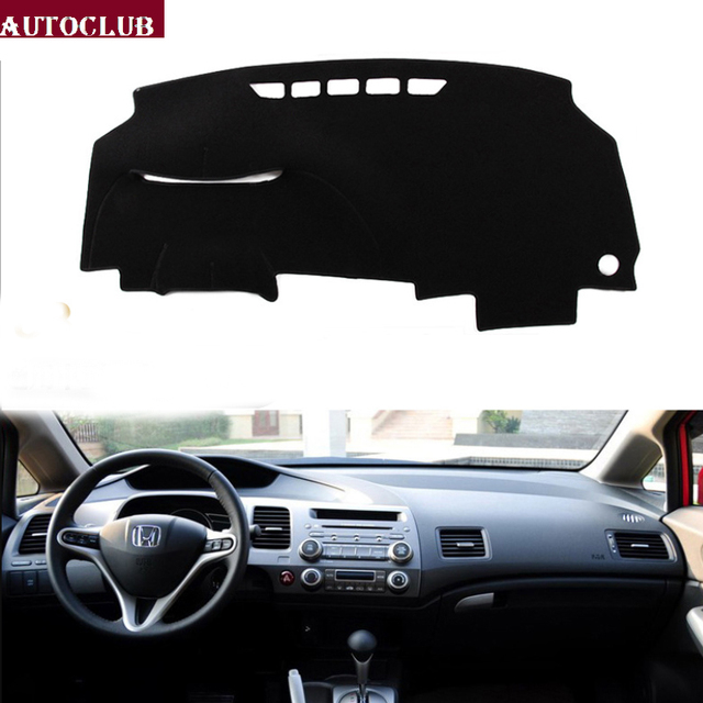 For Honda Civic 2006 2012 8th Generation Car Styling Covers Dashmat