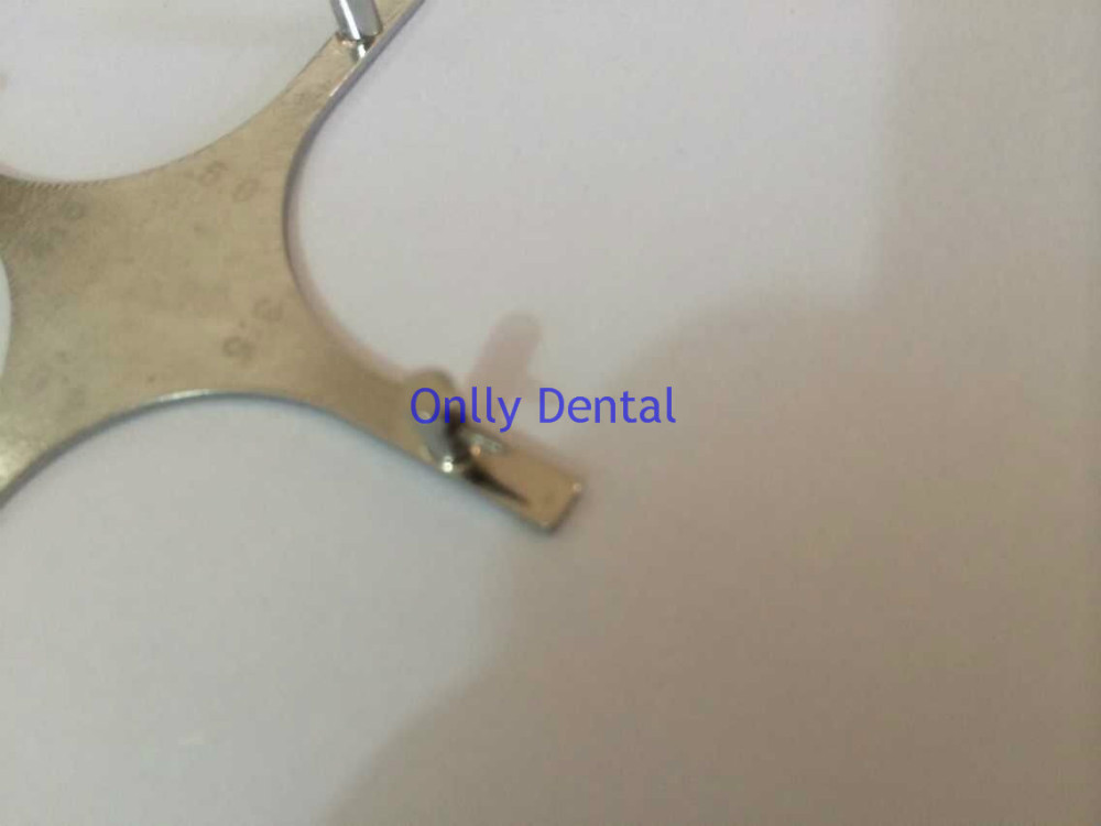 Dental cruciform orthodontic braces locator (4)