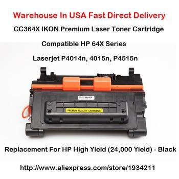 CC364X 64X Series Laser Toner Cartridge Compatible For HP LaserJet P4014n, 4015n, P4515n High Yield (24,000 Yield) - Black