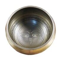 Handmade Tibetan Yoga Singing Himalaya Bowl Buddhism Meditation Healing Sound Massage Chakra Balancing