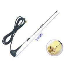 SMA 2,4 GHz 9DBI беспроводной Wifi WLAN 5 X Range Booster Антенна удлинитель+ база