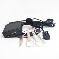 Biurlink Car Radio 6000CD External Media USB Port Bluetooth Music Adapter Microphone Handsfree for Ford Focus Fiesta Mondeo