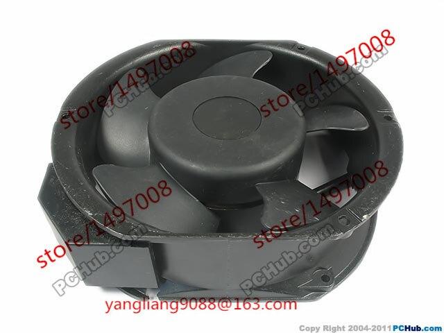 Emacro UF15PC12, Bth Ac 115 В 50/60 Гц 150x150x50 мм Сервер Круглый Вентилятор