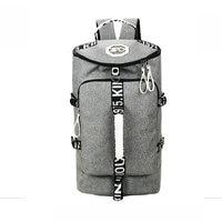 Multi Function Canvas Gym Sport Bag Large Capacity Men Crossbody Bag New Style Waterproof Travle Bag
