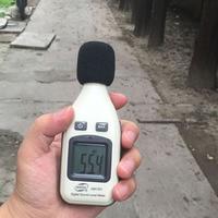 Benetech GM1351 Цифровой измеритель уровня звука децибел Logger Тестер 30-130db Шум в децибелах ЖК-дисплей анализатор тестер