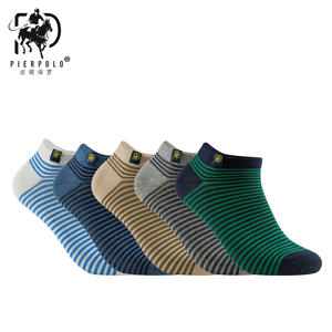 486edd01bee PIERPOLO Stripe Cotton Meia Casual Men s Summer Happy Socks