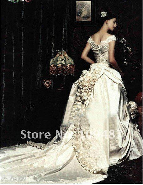 2012 Latest Wedding Dress Boutique Luxury Royal Bride Beautiful Fairy Tail Shoulder Bag