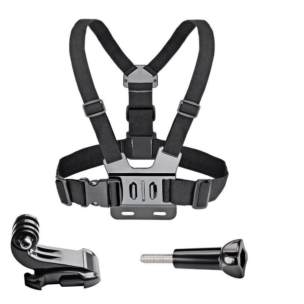 Adjustable Chest Strap Belt Body Tripod Harness Mount For Gopro Hero 6 5 4 3+2 for SJCAM SJ4000 Sj7000 Xiaomi Yi 4K Sport Camera