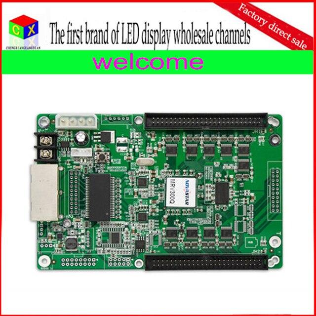 Q MRV300 полноцветный СВЕТОДИОДНЫЙ дисплей контроллера карты поддерживает синхронный приемник/Нова прием карт
