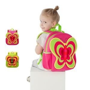 Image 5 - NOHOO Waterproof Children School Bags Cartoon Butterfly Toddler School Backpacks For Teenage Girls Pre School Bag Kids Backpack