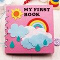 Montessori Early Education Baby Felt Book Kindergarten Homemade Picture Book Diy Craft Children Material Kit Agujas Para Fieltro