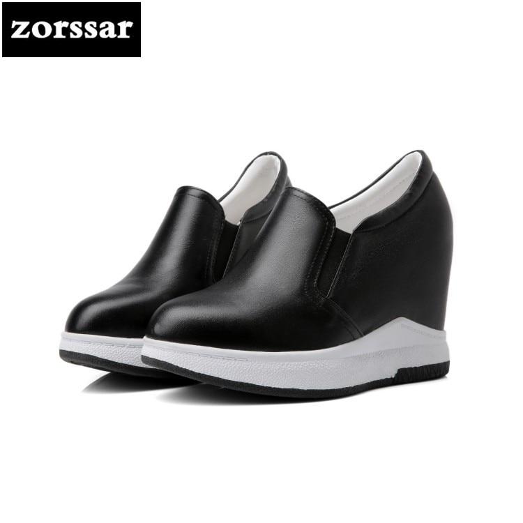 030a452128 b on Nova Casuais Interno Sapatos De 2018  zorssar  Alto Slip Salto Da Moda  ...