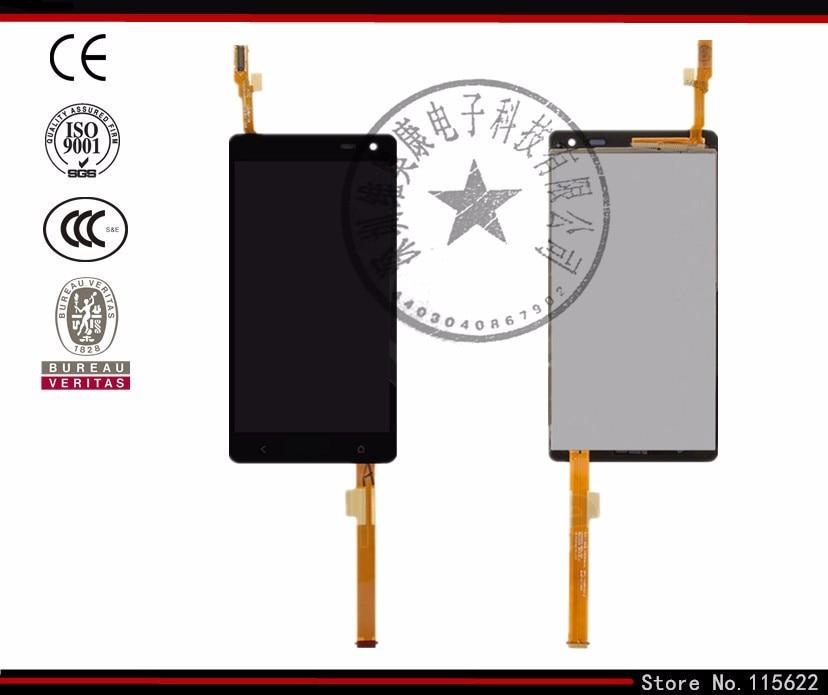 Pantalla lcd de pantalla para htc desire 600 dual sim desire 606 w móviles (negr