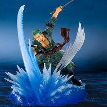 2019 New Figuart ZERO Comic Anime One Piece The straw hat Pirates Roronoa Zoro Port bird Battle State Figure Figurine figura