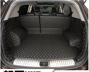 Image 2 - High quality Special car trunk mats for KIA Sportage 2018 2016 waterproof boot carpets cargo liner for Sportage 2017 styling