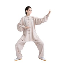 купить New design Tai chi uniform women men wudang tai chi clothing man female kung fu suit chinese traditional wear martial arts suits по цене 3673.4 рублей
