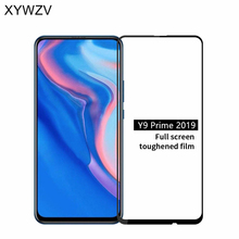 Full Glue Cover Glass For Huawei Y9 Prime 2019 Scratch Proof Screen Protector Tempered Film
