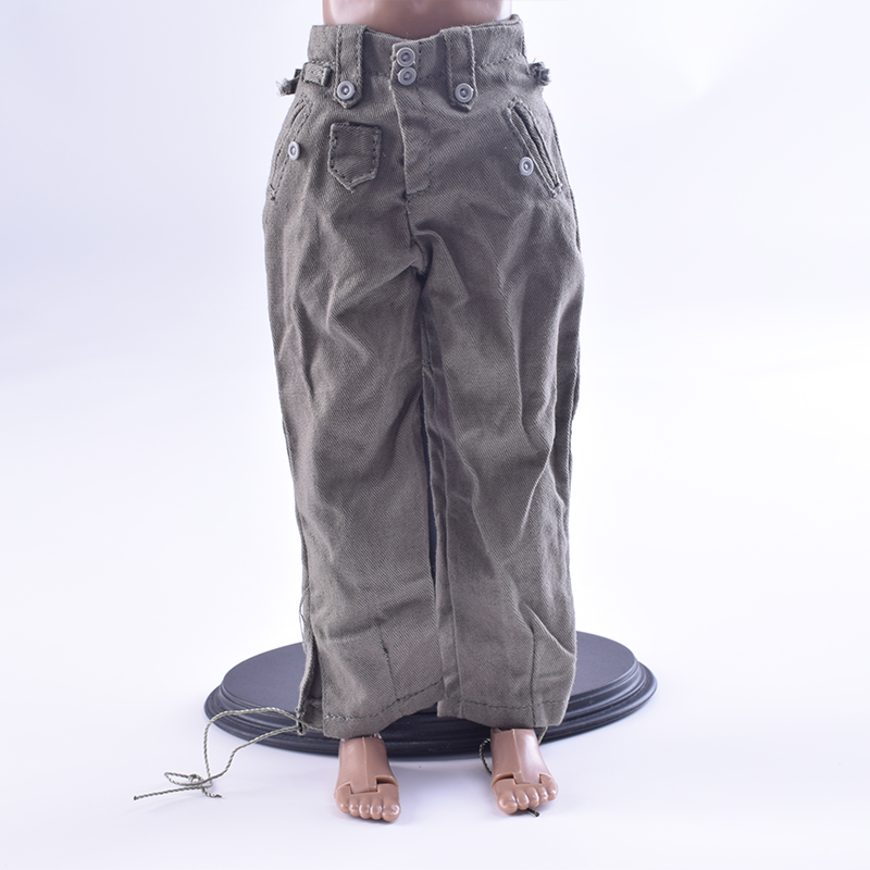 Toys Hobbies 1/6 Scale Soldier Accessories World War II German General Combat Pants Trou ...