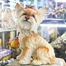 Hand engraving Artwork The dog Home Furnishing creative living room TV cabinet decoration new house garden