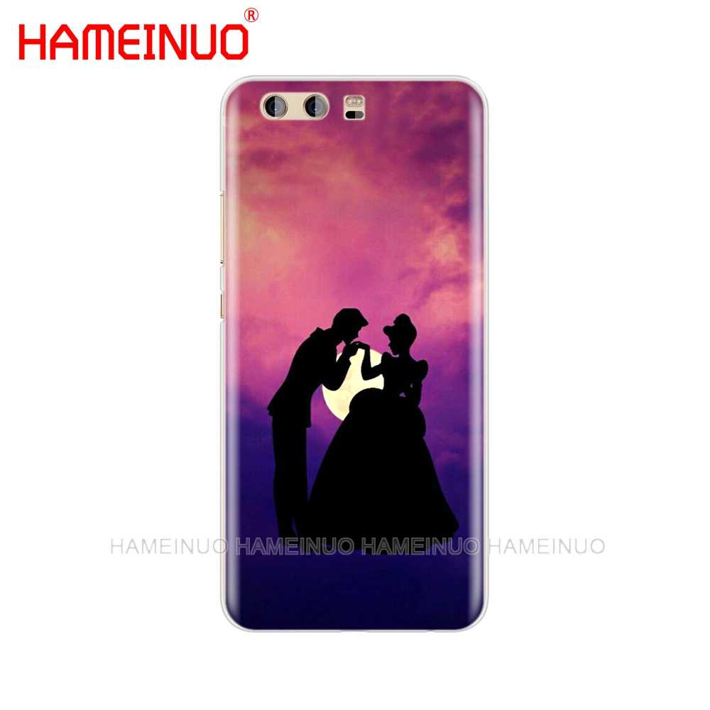 HAMEINUO Aşk üzerinde parmak Kapak telefon kılıfı için huawei Ascend P7 P8 P9 P10 P20 lite artı pro G9 G8 g7 2017