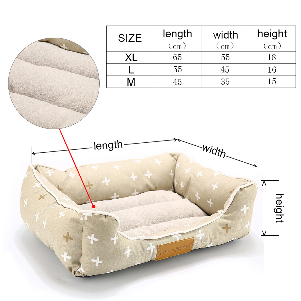 Dog Bed For Dogs Bench Soft Cushion Pet Mat Hand Wash Dog Bed For Cats Products Durable Bench Chihuahua Pet Cat Dog Beds (21)