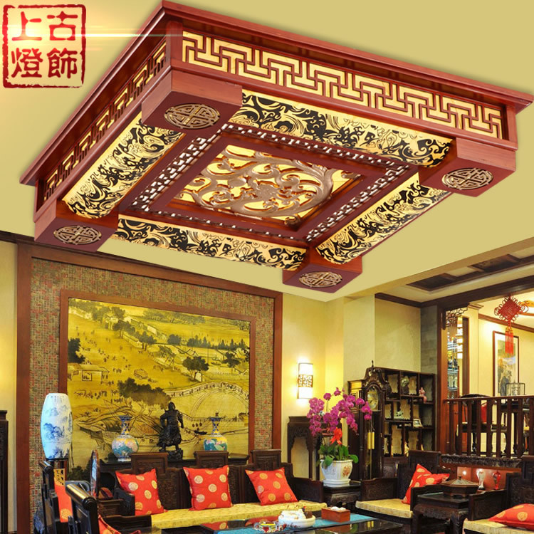 Ancient wood sheepskin l& modern Chinese restaurant bedroom l& Ceiling l& lighting 1188 classic-in Kitchen Sinks from Home Improvement on ... & Ancient wood sheepskin lamp modern Chinese restaurant bedroom lamp ... azcodes.com