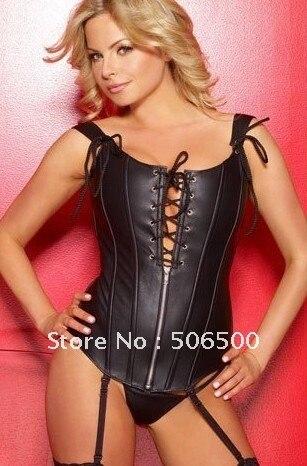 lingerie sexy femme cuir