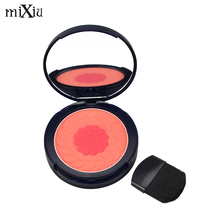 New Contour Sleek Blusher Modified Makeup 2Colors Dual Use Blush Pressed Powder MIXIU Brand Cosmetic Natural Baked Blush Palette