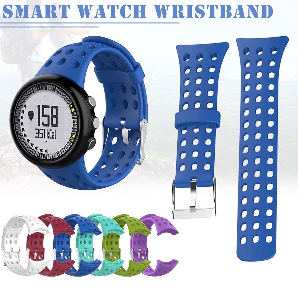 1 Pcs Men Replacement Silicone Watch Band Strap Compatible SUUNTO M1 M2 M4 M5 M Series New Arrival