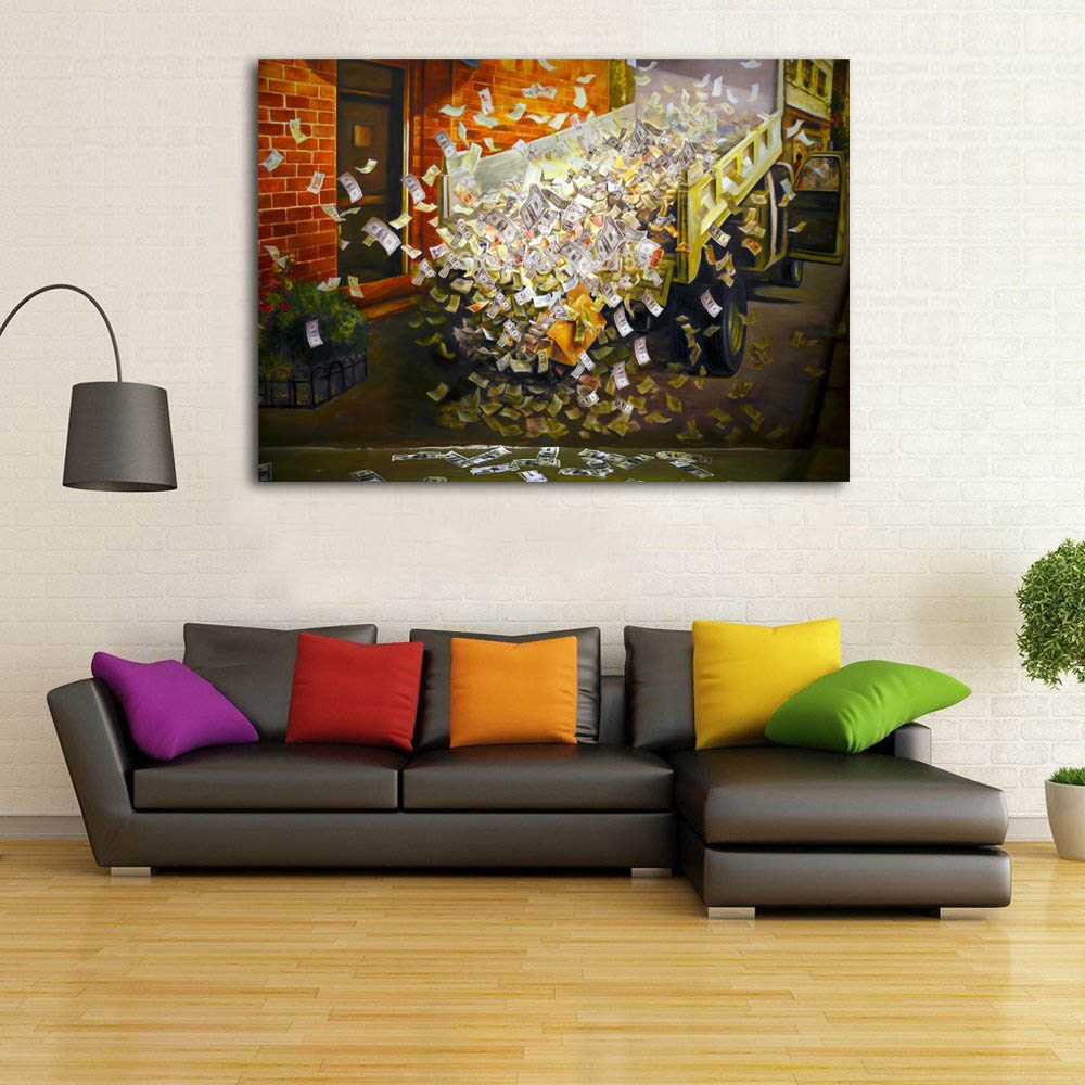 3D Paintings on Canvas Wall Art Home Decor Movie Printed ...