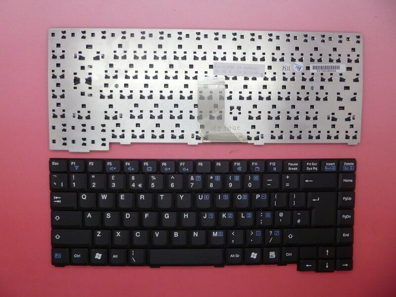 Laptop keyboard for HASEE V700 V700C V700S F700C F700S black UK United Kingdom K011818B9 UK 20081260029 531080280004 laptop keyboard for acer silver without frame united kingdom uk v 121646ck2 uk aezqse00110