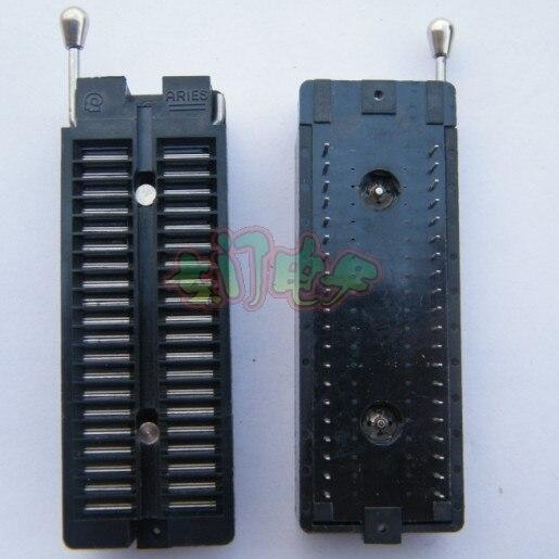 Free shipping 2pcs Plug-in aries 40pin reprogrammed lock block adapter lock ic testing seat  цена и фото