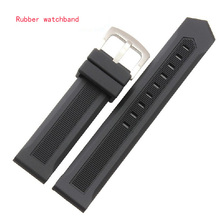 Sport Watches band Straps Men Waterproof Watch Accessories 20 22mmHIGH QUALITY Rubber silicone watchband bracelet free