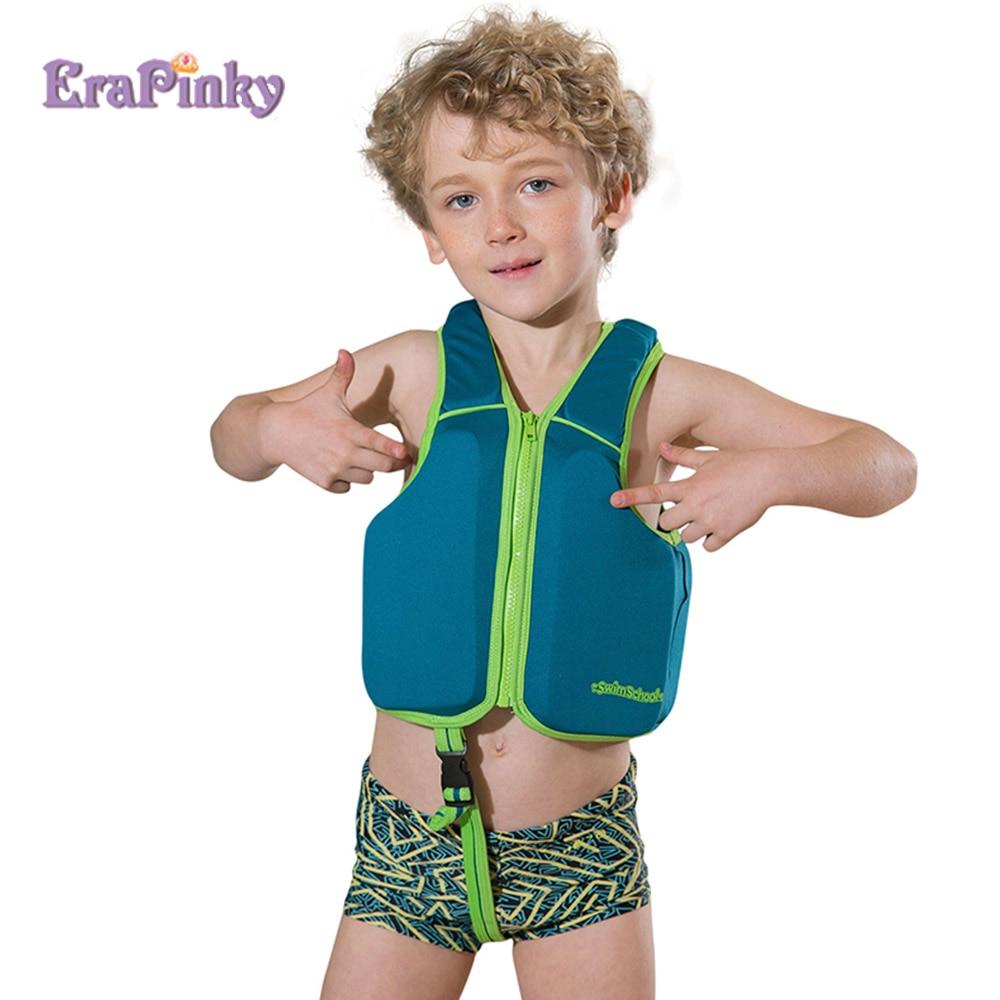Erapinky Upf50 Toddler Life Jacket Floats Vest For Kids