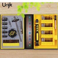 Urijk 47pcs Set Multi Function 47 In 1 Screwdriver Set Ratchet Sleeve Computer Household Maintenance Tools
