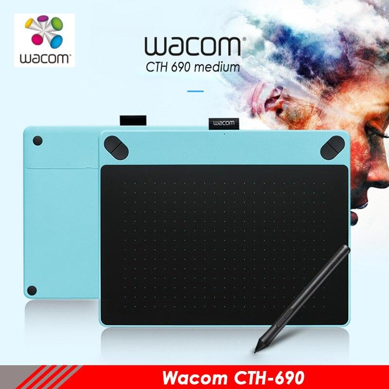 Wacom intuos di Arte cth690 tavolette digitali pittura scheda elettronica anime disegno tablet professionale
