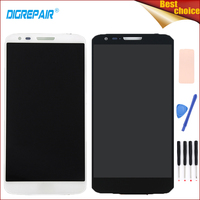 100 Tested Black White For LG Optimus G2 D802 D805 LCD Display Touch Screen Digitizer Assembly