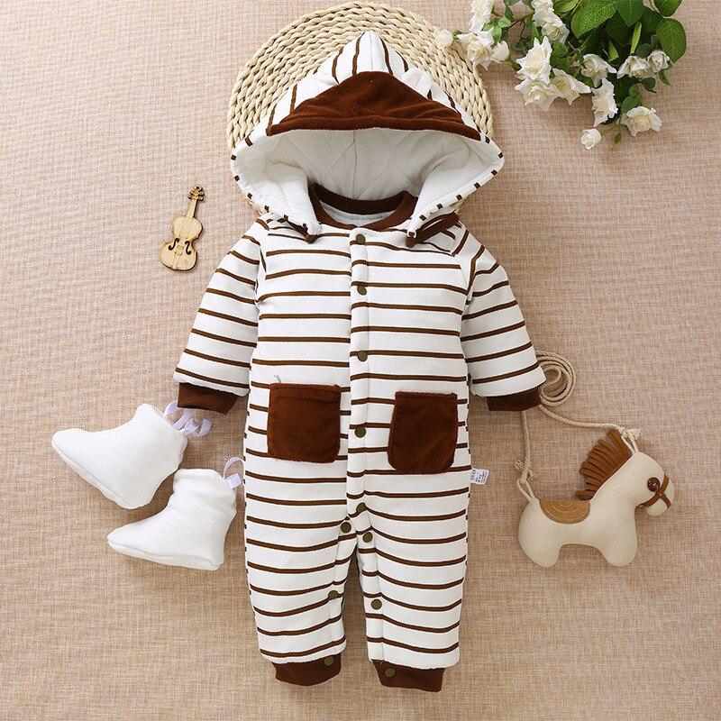 BibiCola Newborn baby romper Winter costume baby boys clothes toddler Fleece warm baby girls hoodies Overall baby jumpsuit paul frank baby boys supper julius fleece hoodie