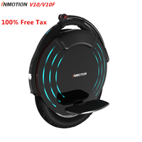 Original INMOTION V10 / V10F Self Balancing Scooter Electric Unicycle Build in Handle EUC Monowheel Hoverboard with Lamps