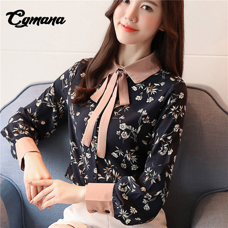 Women's Clothing E Toy Word Temperament Women Shirt Long Sleeve 2019 Spring Two Piece Chiffon Shirt Flare Sleeve Long Shirt Top Fashion Design