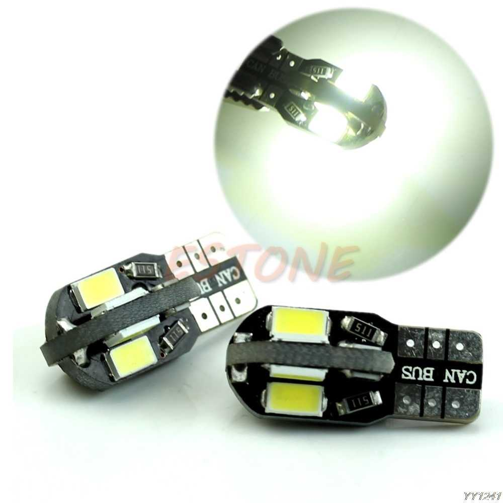 Auto-Styling 1Pc Bright 194 168 W5W 8-LED 5730 SMD CANBUS Wedge Side Tail Car Light lamp Auto Accessoires