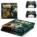 Vinyl Decal Sticker of Far Cry Primal For Ps4 Console Full Skin Sticker Faceplates 1 Console Skin+ 2 Controller Skin