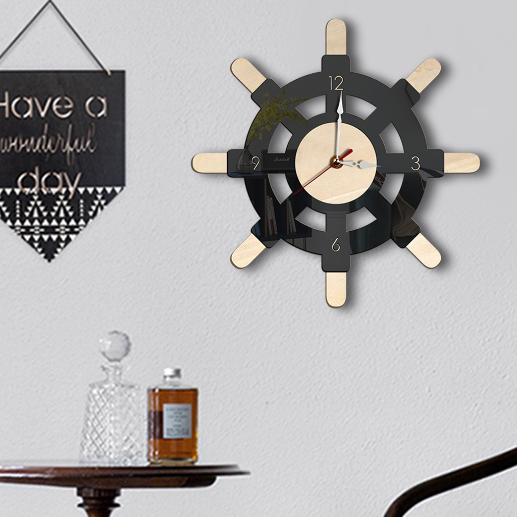 Wall Clock 2019 Nordic Style Wall Clock Silent Transparent Acrylic Clock Home Living Room