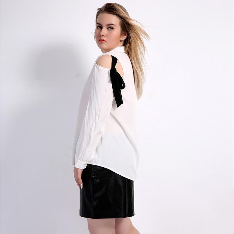 4e65d62dc19 VWMYQ Plus Size Blouses 2017 Fashion Big Size Shirt Turn down Collar Long  Sleeve Clothing Women Large Sizes Tops 4XL 5XL 6XL 7XL-in Blouses   Shirts  from ...